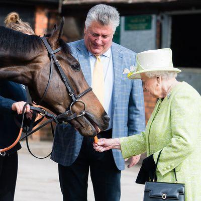Queen Elizabeth visits Somerset, March 2019.