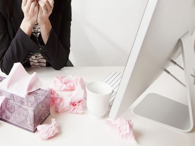 Work-from-home options during illness could help prevent the spread of disease.