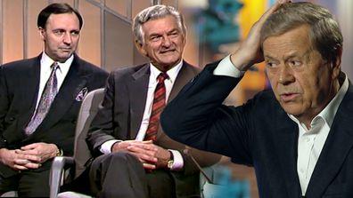 Ray Martin, Bob Hawke, Paul Keating