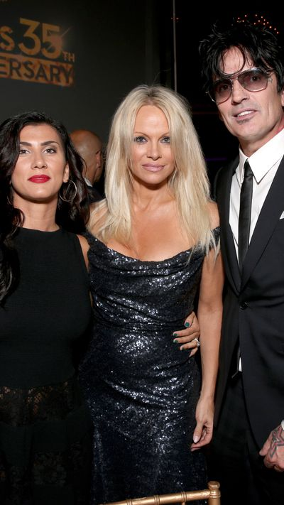 Pamela Anderson and Tommy Lee reunite!