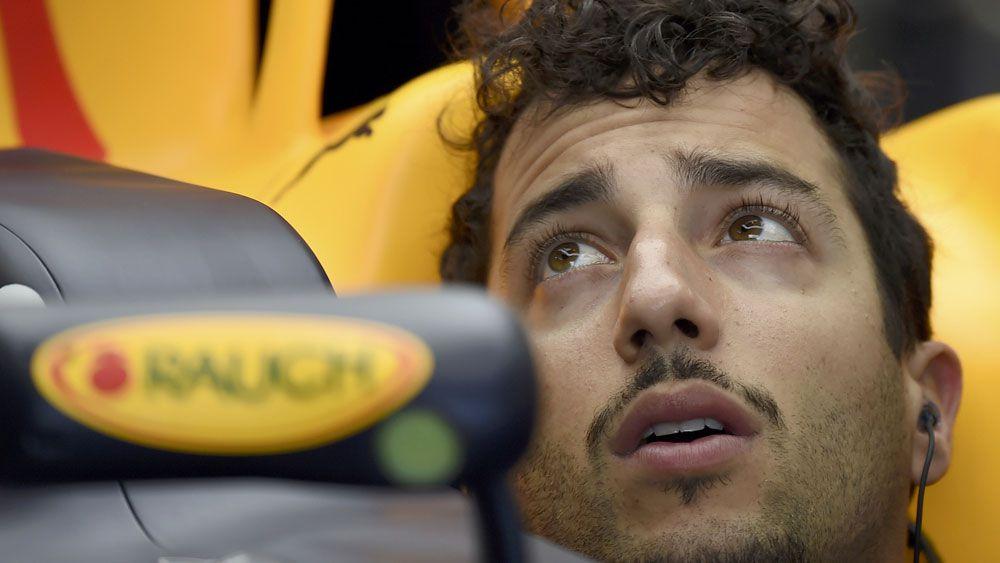Ricciardo upbeat at Aust F1 Grand Prix