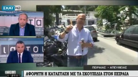 Reporter stops live broadcast for the most unprofessional reason