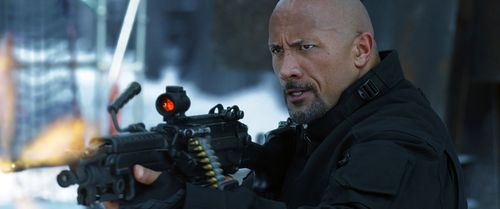 Dwayne Johnson in the movie,  'The Fate of the Furious'