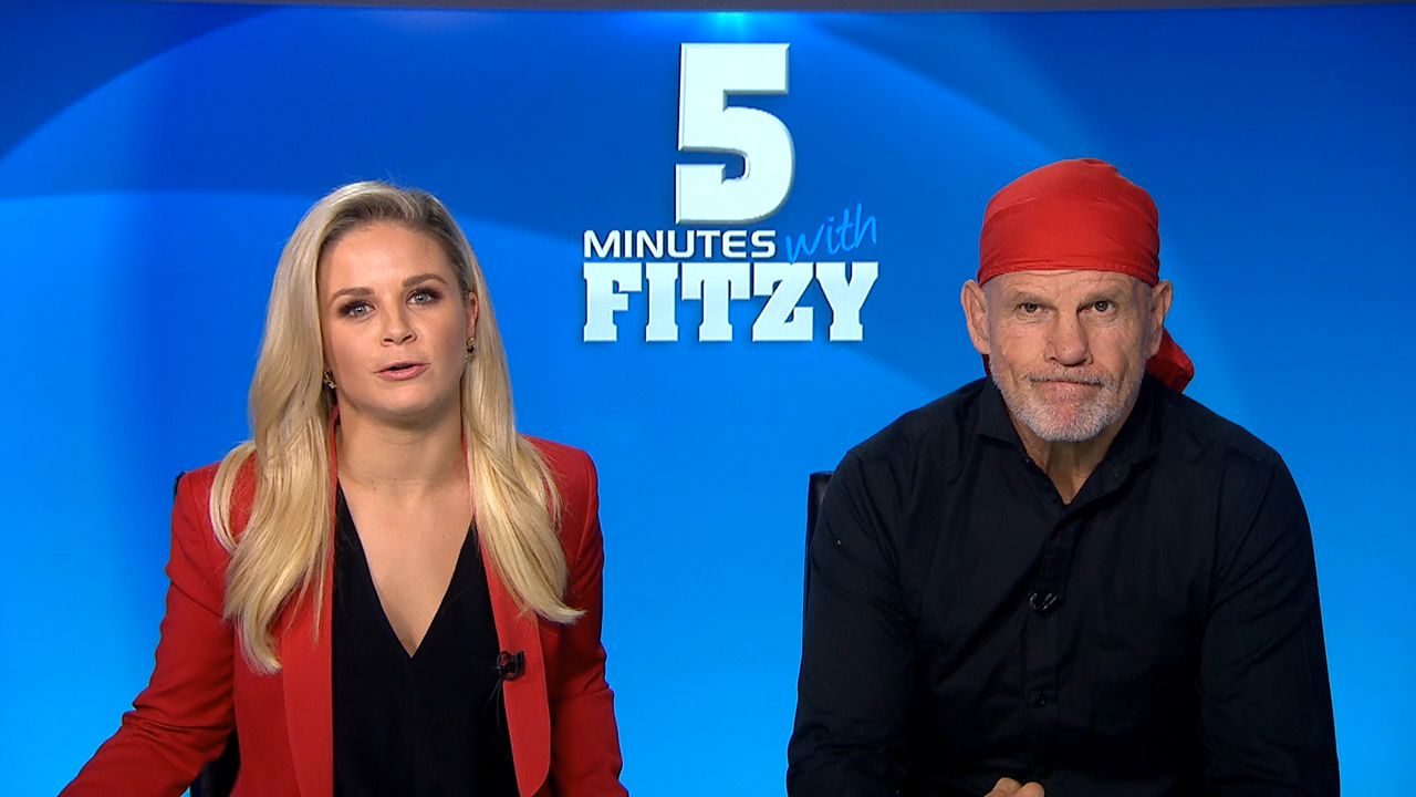 5 Minutes with Fitzy