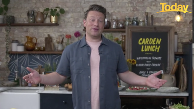 Jamie Oliver tackled the tricky topics of Karl v Ally's cooking and parenting during the catch-up.