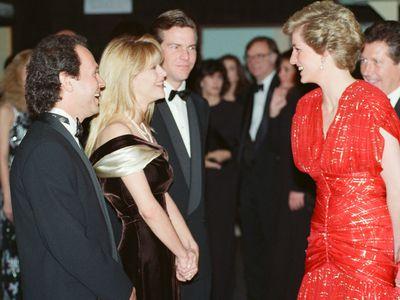 Billy Crystal with Princess Diana, 1989