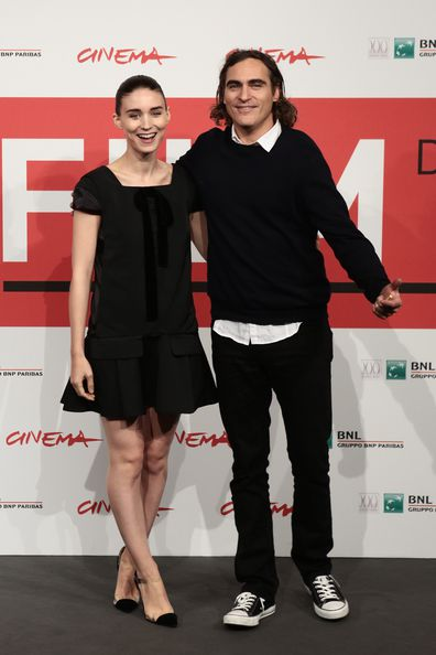 Rooney Mara,Joaquin Phoenix, photocall, movie, Her