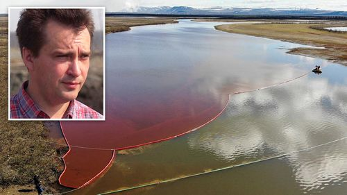 Russian whistleblower risks everything to expose scale of Arctic oil spill catastrophe
