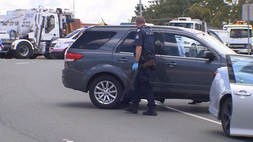 The man has been charged with weapon, driving and violence offences.