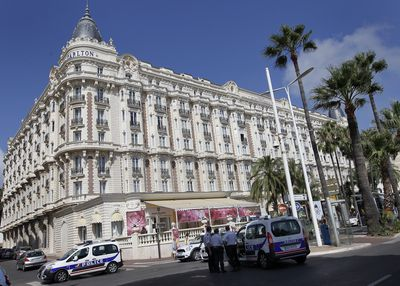 "<p>Cannes is known not only for its film festival glamour but also for dramatic heists.</p> <p> </p> <p>In 2013 thieves stole Chopard jewellery from a hotel room safe during the festival, a crime that drew parallels to Sofia Coppola's ""The Bling Ring,"" which was screening that year.</p> <p> </p> <p>Two months later, a lone gunman pulled off one of the biggest jewellery heists of all time, stealing $136 million worth of diamond jewelry from Cannes' Carlton Hotel (pictured) - a location for Alfred Hitchcock's classic ""To Catch a Thief.""</p> <p> </p> <p>In 2015, raiders — one wearing an old-man mask — walked into the Cartier boutique on Cannes' Croisette seaside promenade in the middle of the morning, and walked out with millions of dollars' worth of jewellery and watches.</p>"