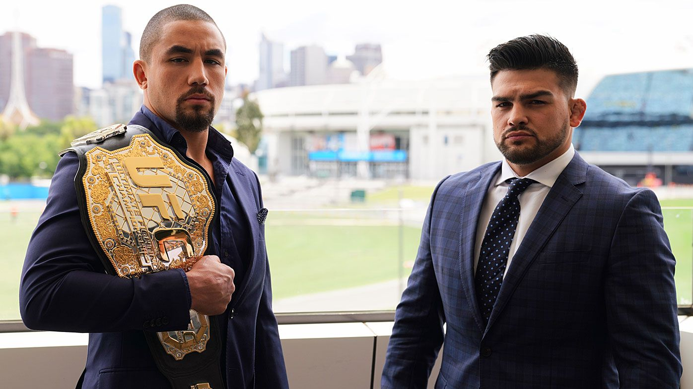 Rob Whittaker relishing home UFC title defence against Kelvin Gastelum