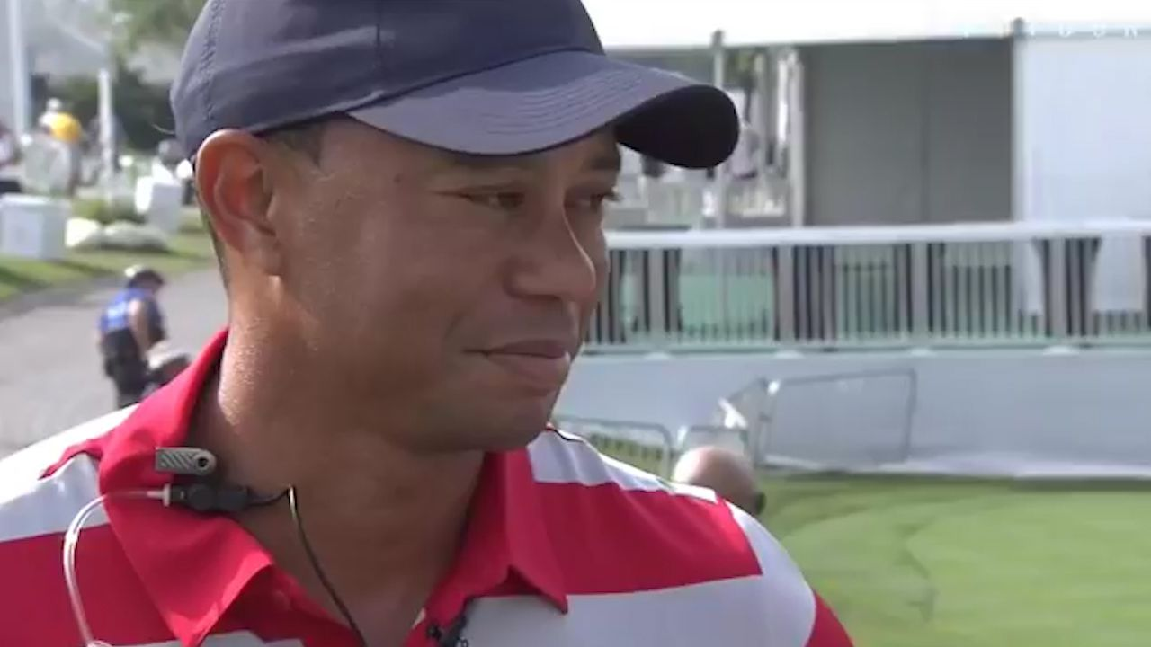 Woods looking forward to President's Cup