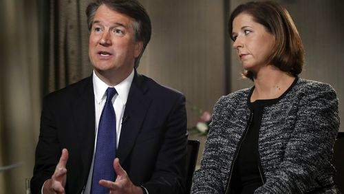 Brett Kavanaugh and his wife Ashley spoke to Fox News about the sexual assault allegations dogging Mr Kavanaugh's nomination to the Supreme Court.