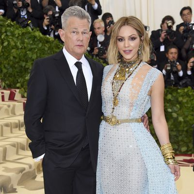 <strong>David Foster, 69, and Katharine McPhee, 34</strong>
