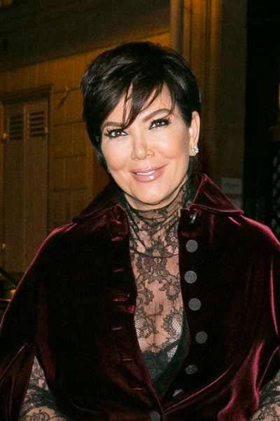 Kris Jenner - a little loose, a touch romantic and flatteringly swept across the forehead.