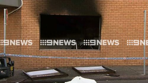 The damage to the business is extensive. (9NEWS)