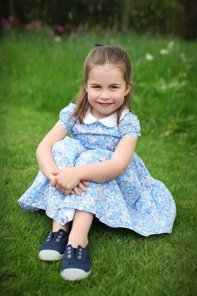 Princess Charlotte fourth birthday photos