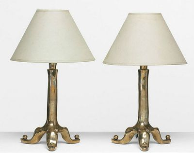 David Gill table lamps