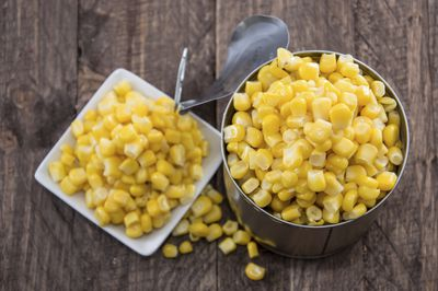 <strong>Tin of corn</strong>