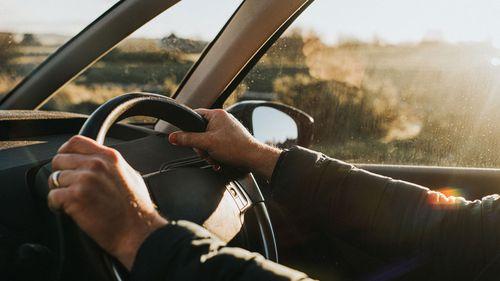 car driver insurance road stock file