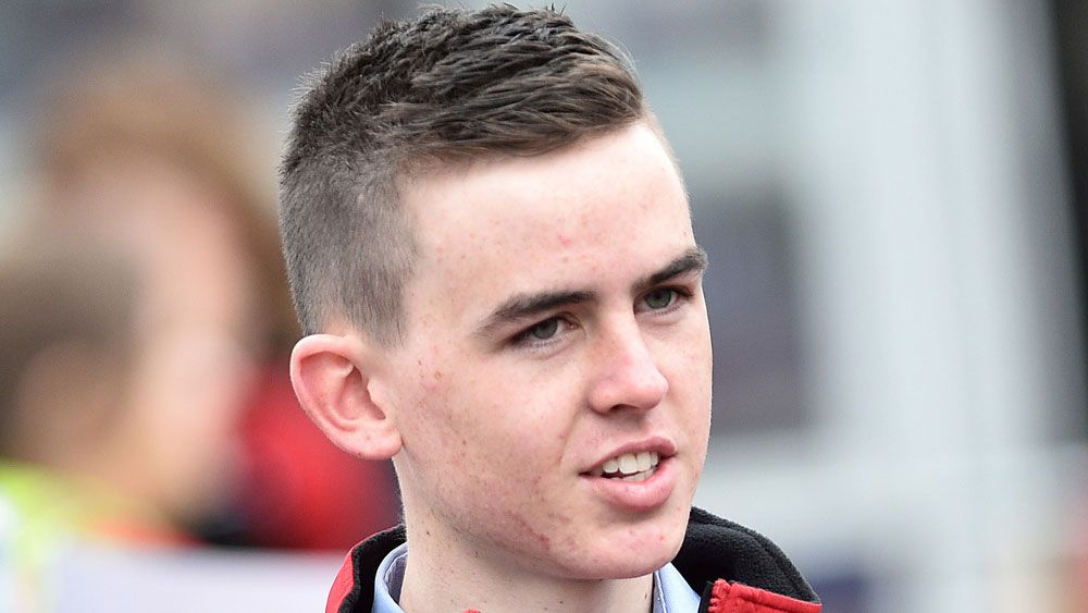 First Cup ride for apprentice Ben Thompson