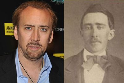 This 1870 pic of Nicolas Cage was up for sale on eBay for $1 million. The seller claimed Nic is a vampire/walking undead who reinvents himself every 75 years or so...