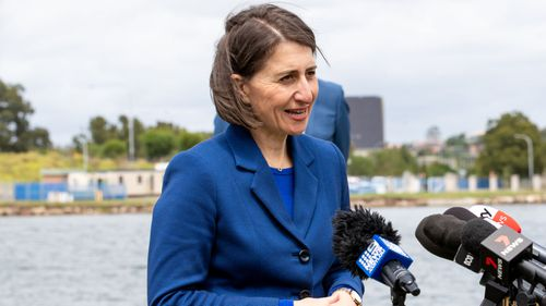 NSW Premier Gladys Berejiklian said the border with Victoria could be open within weeks.