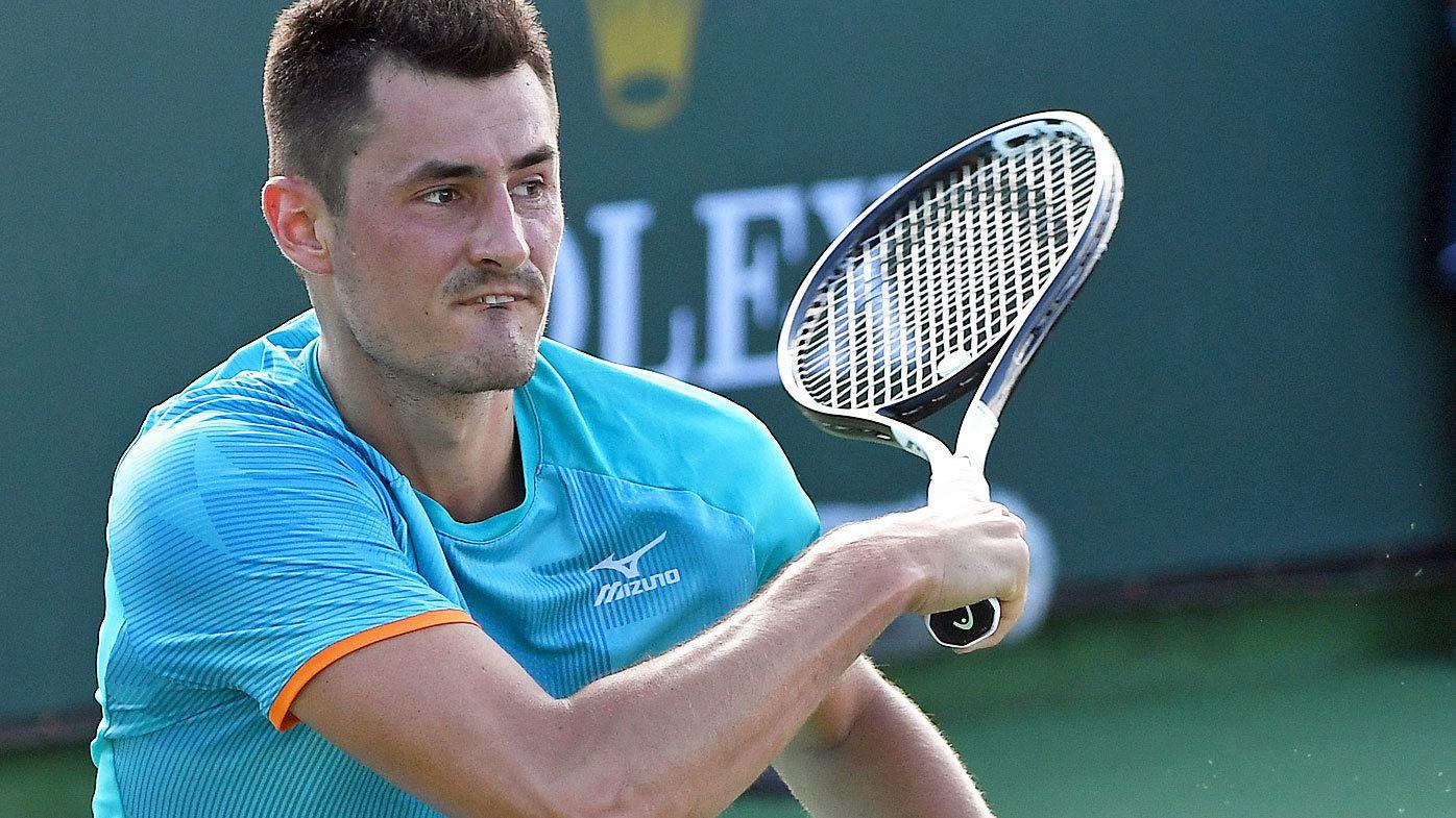 Bernard Tomic advances in Miami Open to meet Novak Djokovic