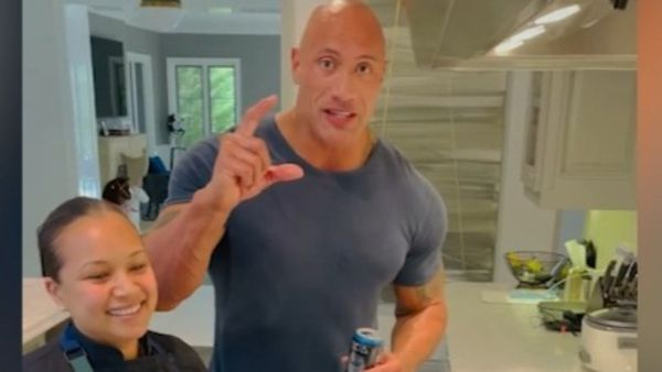 Dwayne 'The Rock' Johnson shares secret to his 'cheat meal' brioche French toast