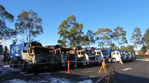 Residents facing delays to bin collection after garbage trucks catch on fire