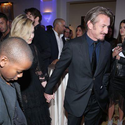 Sean Penn and Madonna: Now...
