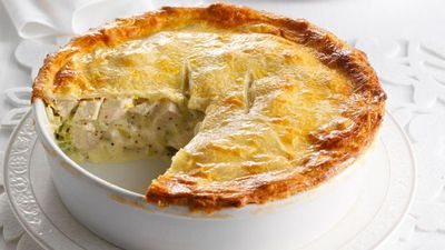 Aussie beef and oyster pie