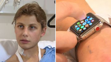 How a smart watch saved man's life