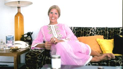 A more informal shot of the Duchess at home in September, 1973. (Getty)