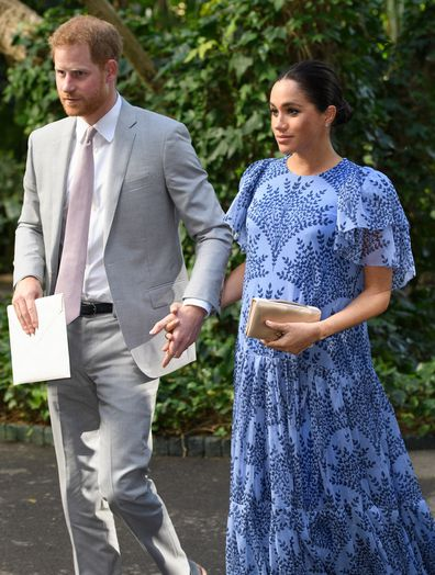 The Duke and Duchess of Sussex during Archie pregnancy