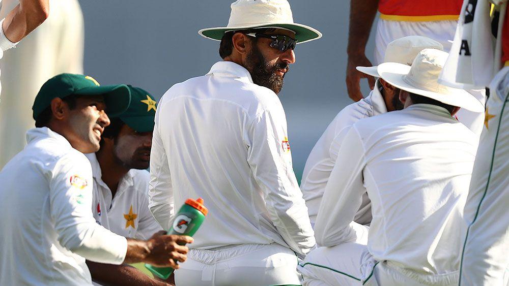 Pakistan captain Misbah ul Haq. (Getty)