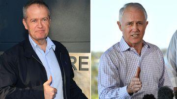 Bill Shorten Malcolm Turnbull