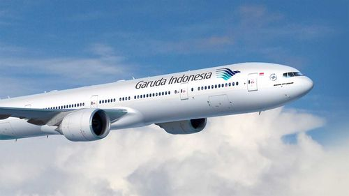 Garuda Indonesia plane