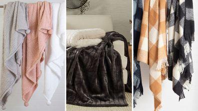 Throw blankets under $100