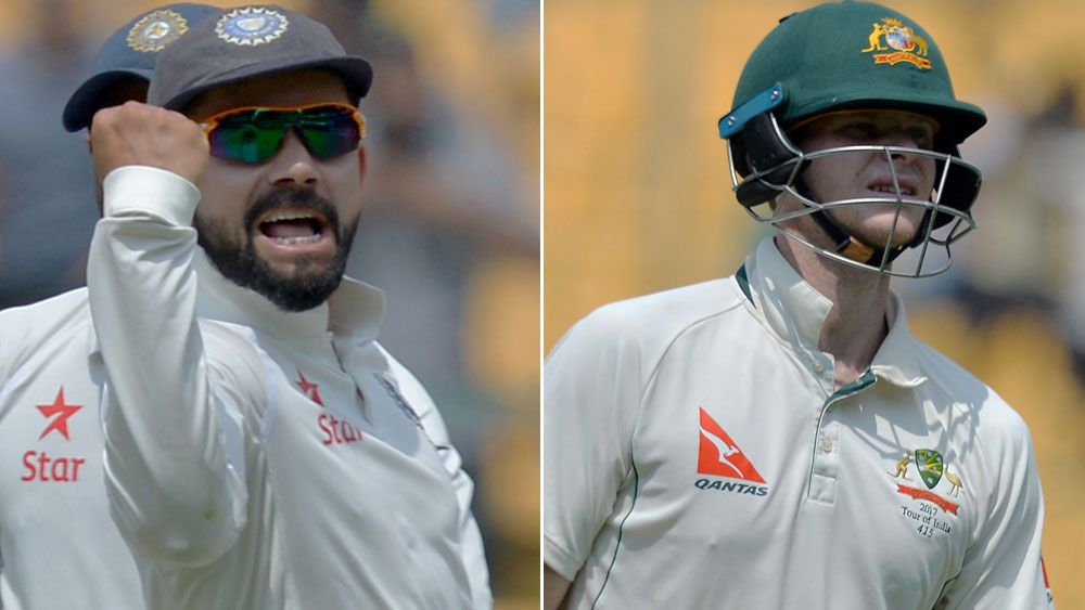Kohli, Smith in verbal clash over physio