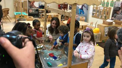 The Duchess of Cambridge visited our Stockwell Nursery to discuss how a good education is important for children growing up in the UK today.