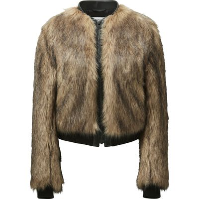 "Carine faux fur bomber, $149.90, <a href=""http://www.uniqlo.com/au/store/women-carine-faux-fur-blouson-1886290008.html"" target=""_blank"">Uniqlo</a>"