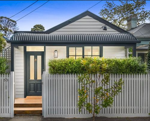 $1m in St Kilda Melbourne buys you a modest two bedroom home with a tiny corridor of a backyard.