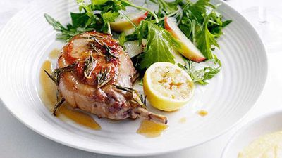 "Recipe:&nbsp;<a href=""http://kitchen.nine.com.au/2016/05/16/12/32/pork-chops-with-lard-honey-and-rosemary"" target=""_top"" draggable=""false"">Pork chops with lard, honey and rosemary</a>"