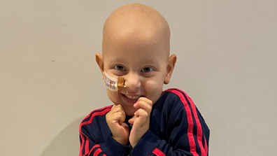 The family is hoping to raise money to take Sammy to the US for further treatment.
