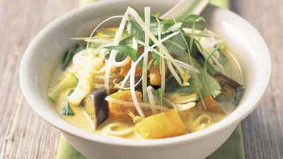 "<a href=""http://kitchen.nine.com.au/2016/05/17/14/34/vegetable-laksa"" target=""_top"">Vegetable laksa</a> recipe"