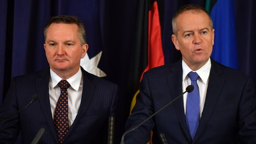 Labor has voted against completely supporting the Coalition's income tax cuts plan, instead backing its own plan for 'bigger, better, fairer tax cuts'. Picture: AAP.