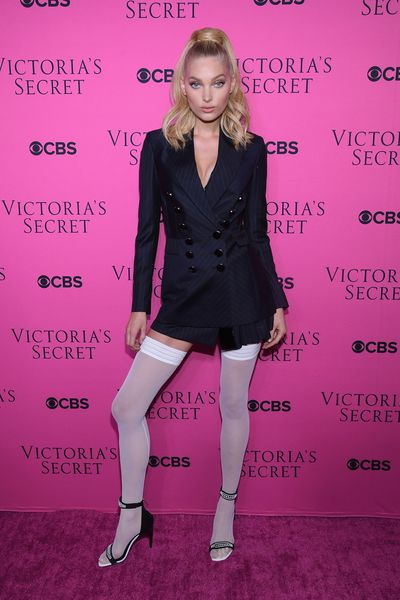 "<p>Spending most of their runway time for <a href=""https://style.nine.com.au/victorias-secret"" target=""_blank"">Victoria's Secret</a> barely covered in lace, feathers and wings, the superstars of the runway took advantage of the opportunity to dress up at a viewing party for the annual extravaganza.&nbsp;</p> <p>Bella Hadid, Martha Hunt and Adriana Lima were all on hand to dress up and celebrate the screening of the show staged in Shanghai.&nbsp;</p> <p>Sara Sampaio squeezed into an Aadnevik mini dress while Maria Borges looked like molten mustard in a skintight dress from Cushine et Ochs.</p> <p>It was Bella Hadid who managed to steal the show in a snakeprint dress. Latex generally grabs attention.</p> <p>Elsa Hosk (pictured) went for a Gaultier meets Madonna inspired look.&nbsp;</p> <p>&nbsp;</p> <p>&nbsp;</p>"