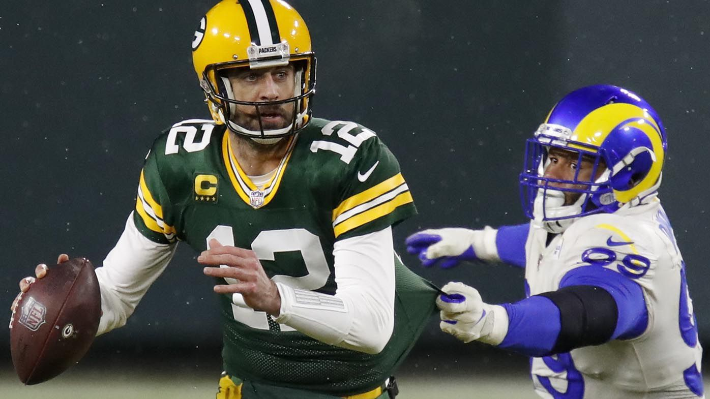Aaron Rodgers leads Packers past Rams and into NFC Championship game in NFL playoffs
