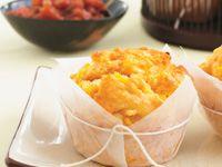 Corn and paprika muffins